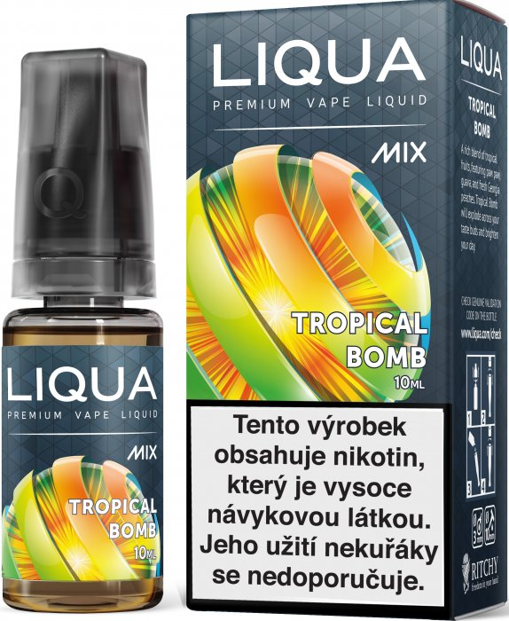 Liquid LIQUA CZ MIX Tropical Bomb 10ml-6mg
