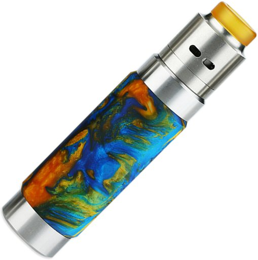 Wismec Reuleaux RX Machina grip Full Kit Swirled Metallic Resin