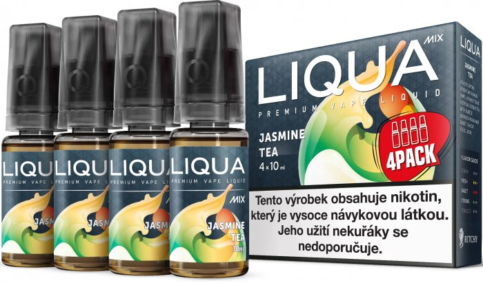 Liquid LIQUA CZ MIX 4Pack Jasmine Tea 10ml-3mg