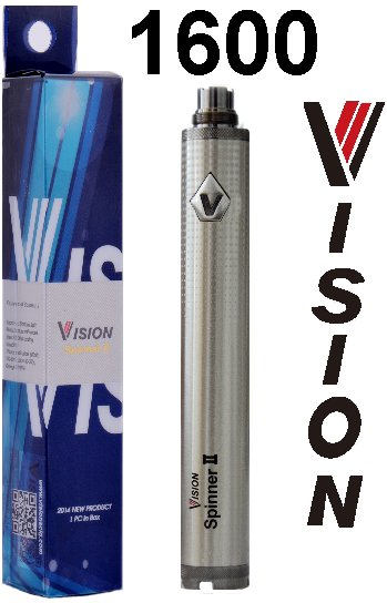 VISION Spinner 2 Twist baterie 1600mAh Silver