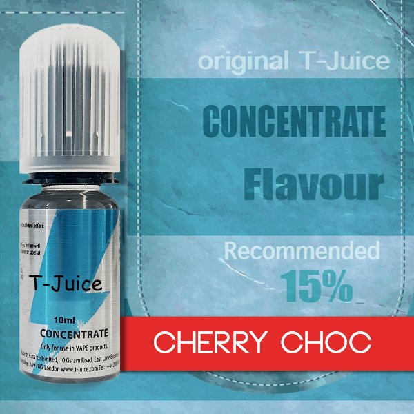 Příchuť T-Juice Cherry Choc 10ml