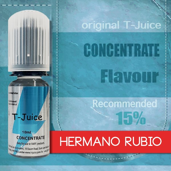 Příchuť T-Juice Hermano Rubio 10ml