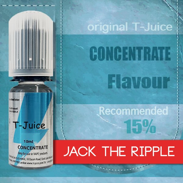 Příchuť T-Juice Jack the Ripple 10ml