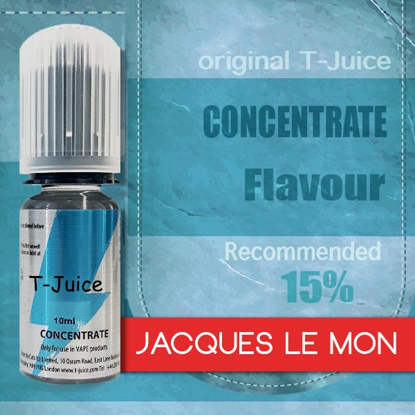 Příchuť T-Juice Jacques Le Mon 10ml