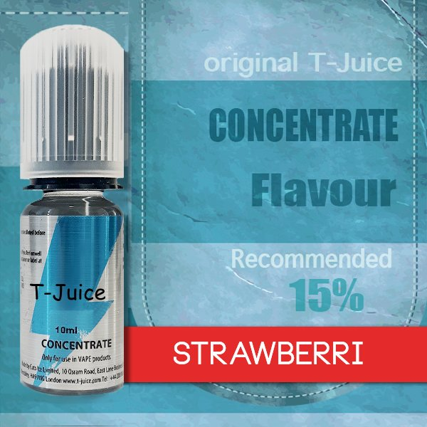 Příchuť T-Juice Strawberri 10ml