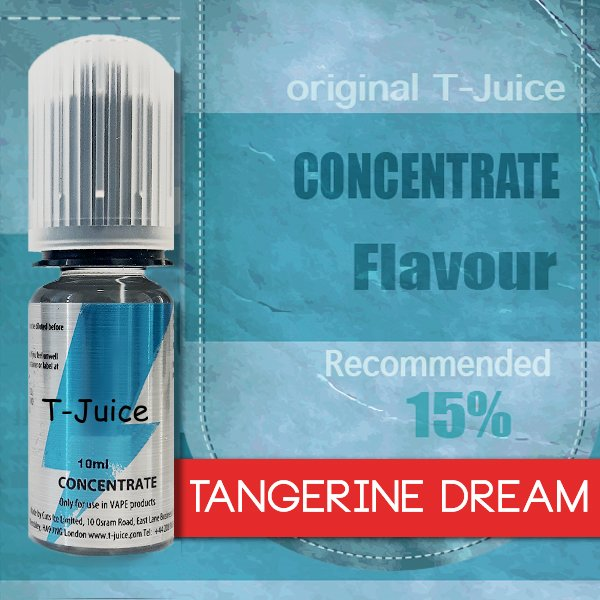 Příchuť T-Juice Tangerine Dream 10ml