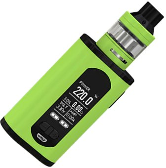 iSmoka-Eleaf Invoke TC 220W Full Kit grip Greenery
