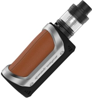 GeekVape Aegis grip 4300mAh Full Kit Silver-Brown