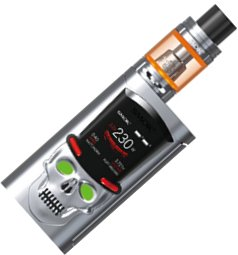 Smoktech S-Priv TC225W Grip Full Kit Silver