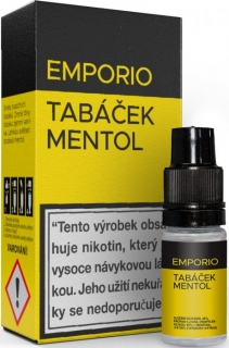 Liquid EMPORIO Tobacco - Menthol 10ml - 6mg