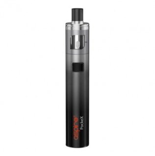 aSpire PockeX AIO elektronická cigareta 1500mAh ANNIVERSARY EDITION Black Grey