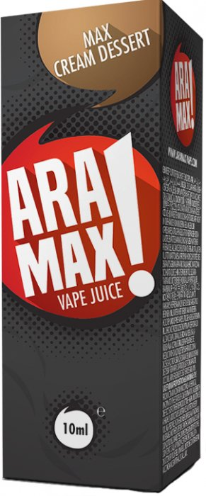 Liquid ARAMAX Max Cream Dessert 10ml-0mg