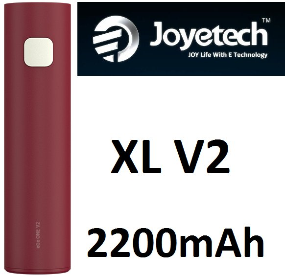 Joyetech eGo ONE XL V2 baterie 2200mAh Red