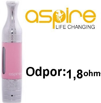 aSpire ET-S Victory BVC clearomizer 3ml 1,8ohm Pink