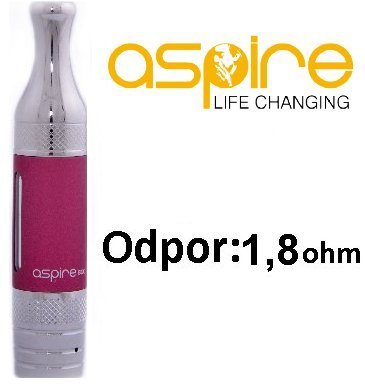 aSpire ET-S Victory BVC clearomizer 3ml 1,8ohm Red