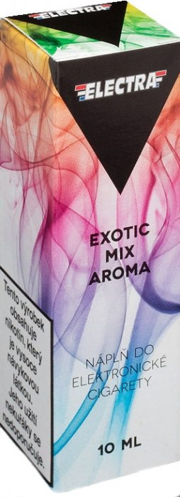Liquid ELECTRA Exotic mix 10ml - 0mg (Mix exotického ovoce)